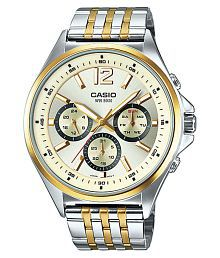 Casio Enticer Men's MTP-E303SG-9AVDF(A960) Multi Dial Watch