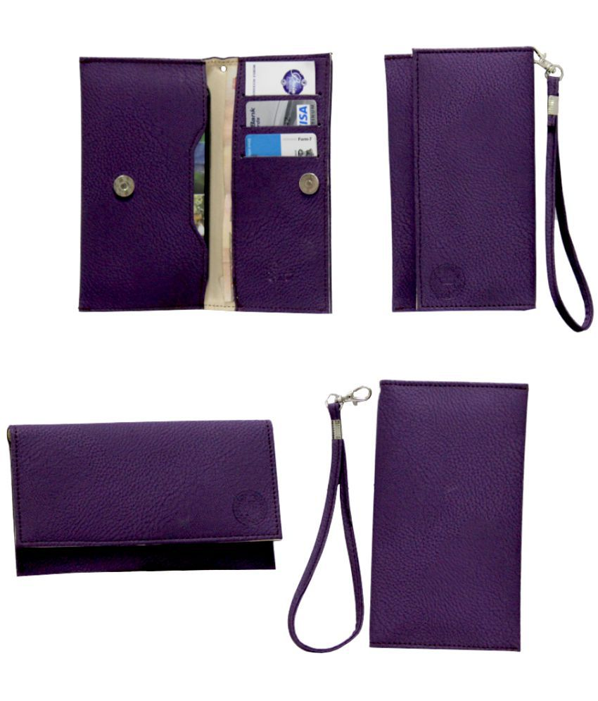 Samsung Galaxy C7 Holster Cover by Jojo - Purple