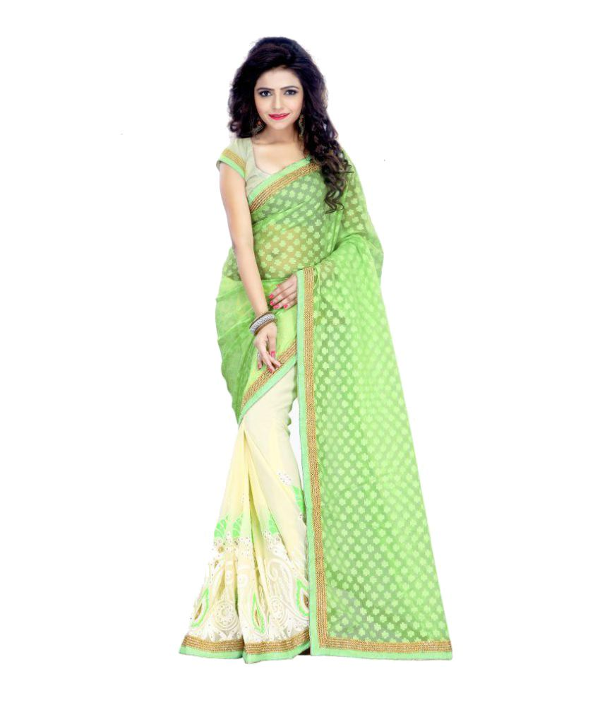 ARSH IMPEX Multicoloured Georgette Saree