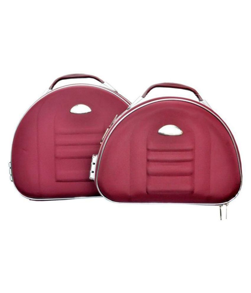 Bonanza Maroon Jewellery Box - Pack of 2