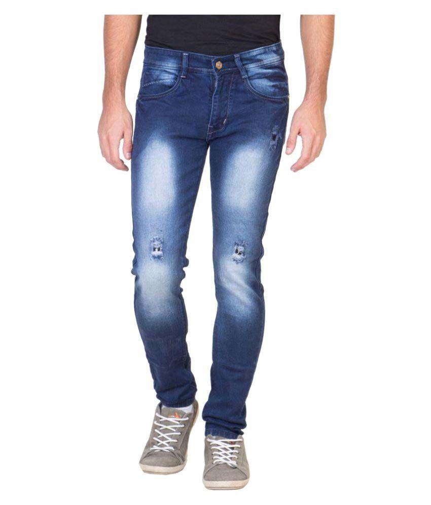 Flying Port Blue Slim Jeans