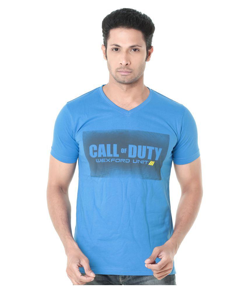 Wexford Blue V-Neck T-Shirt
