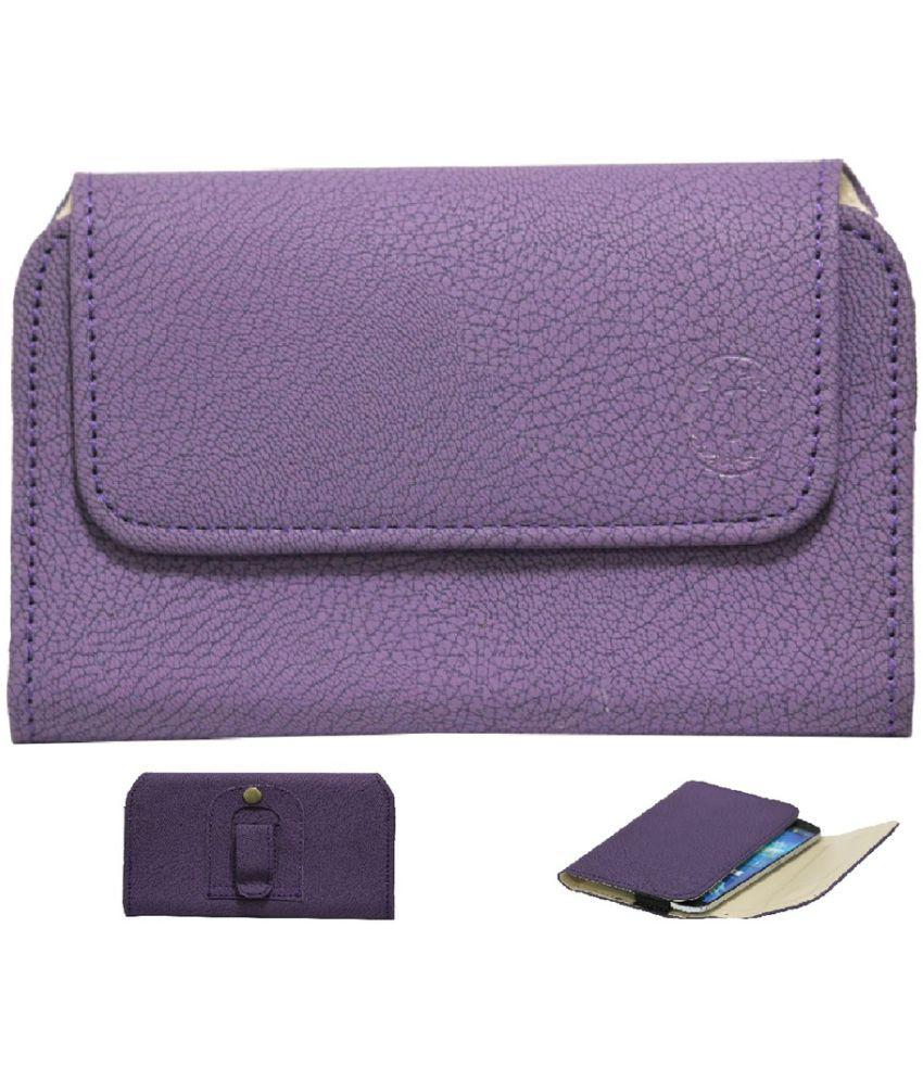 Samsung Galaxy S7 Edge Flip Cover by Jojo - Purple