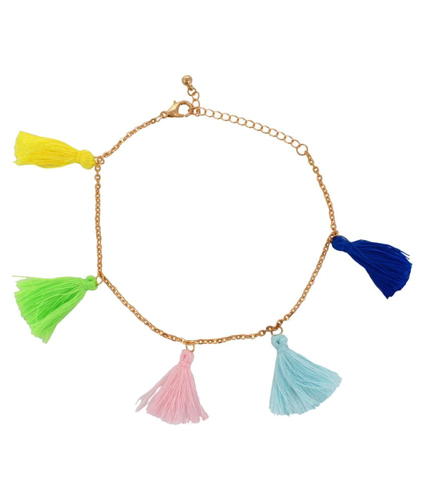 Oomph Multicolor Anklet