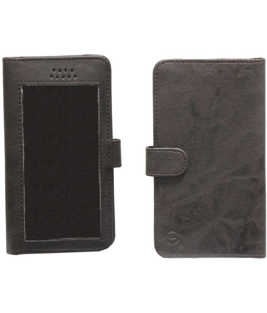 Samsung Galaxy Note Flip Cover by Jojo - Brown