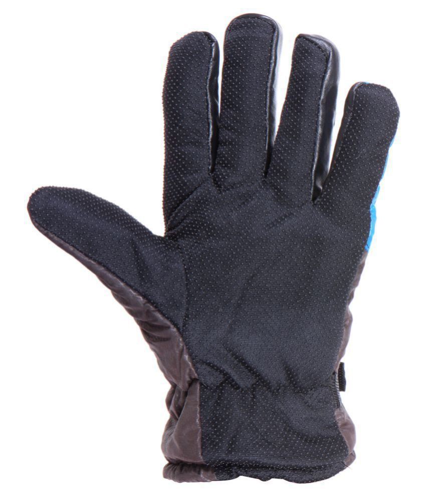 Grabberry Mens Brown Color Hand Gloves For Winters Pack Of 2 Buy Online At Low -7370