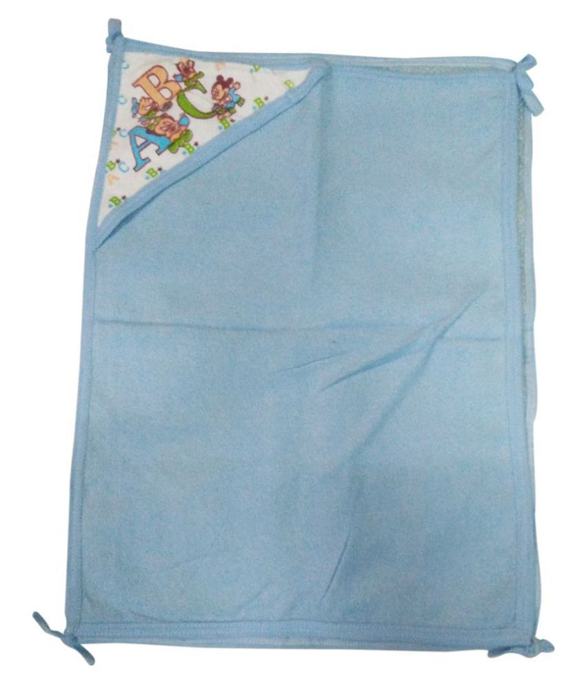 Gold Dust Blue Baby Wrap Baby Blanket/Baby Swaddle/Baby Sleeping Bag