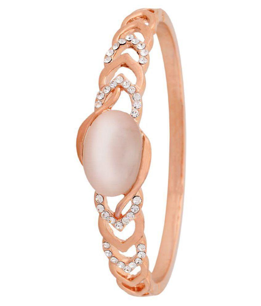 OSF Gold Colour Alloy Bracelet