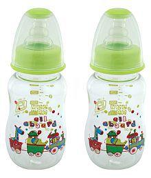 Mee Mee Green Feeding Bottle 150ml - Pack Of 2