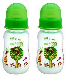 Mee Mee Multi-Colour Feeding Bottle - Pack Of 2