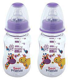 Mee Mee Purple Feeding Bottle - Pack Of 2