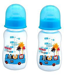 Mee Mee Blue Baby Premium Feeding Bottle 150ml  Pack Of 2