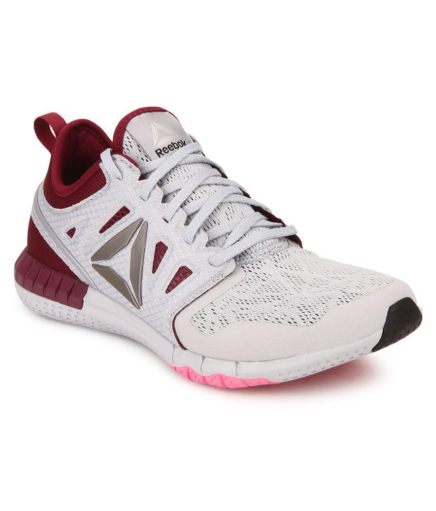 a87bff303d6 Reebok ZPRINT 3D Gray Running Shoes Price in India- Buy Reebok ZPRINT 3D  Gray Running Shoes Online at Snapdeal