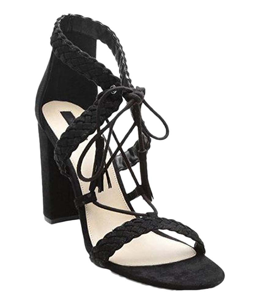 8b0b66dbfe5 Forever 21 Black Heels Price in India- Buy Forever 21 Black Heels Online at  Snapdeal