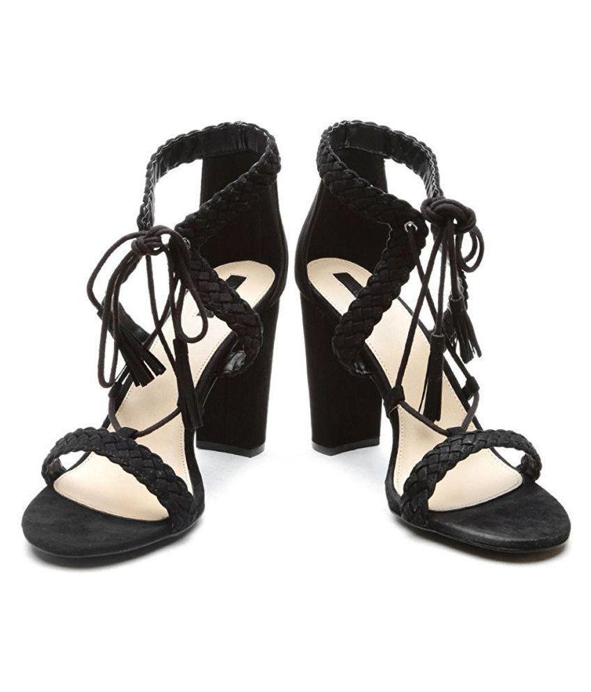 721b52570be Forever 21 Black Heels Price in India- Buy Forever 21 Black Heels ...
