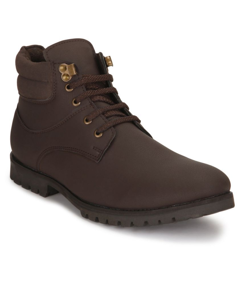 Ziera Brown Casual Boot