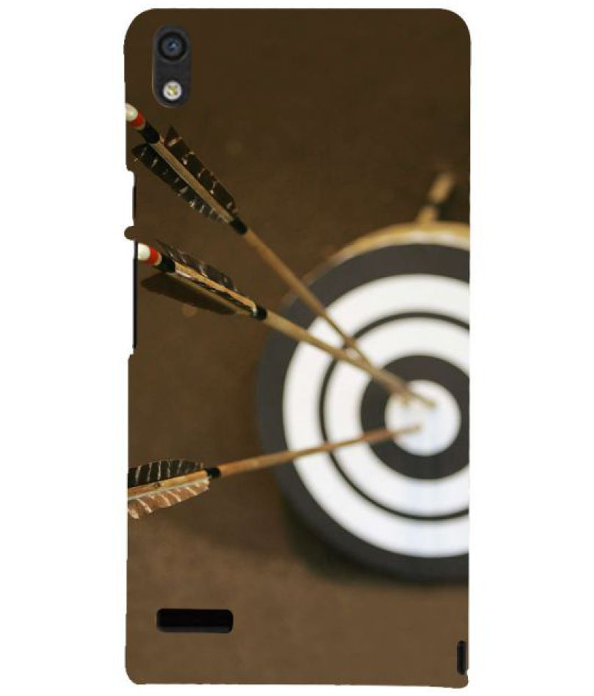 Huawei Ascend P6 3D Back Covers By Fuson