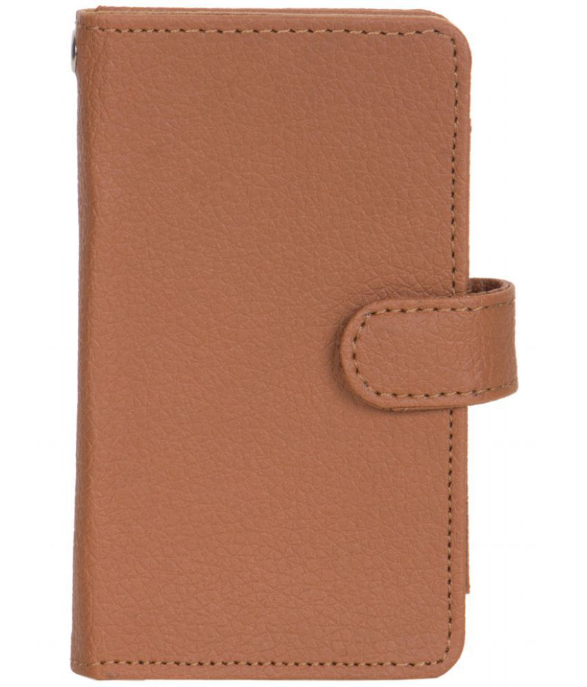 iBall Andi 5T Cobalt 2 Holster Cover by Senzoni - Brown