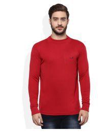 Monte Carlo Red Round T-shirt