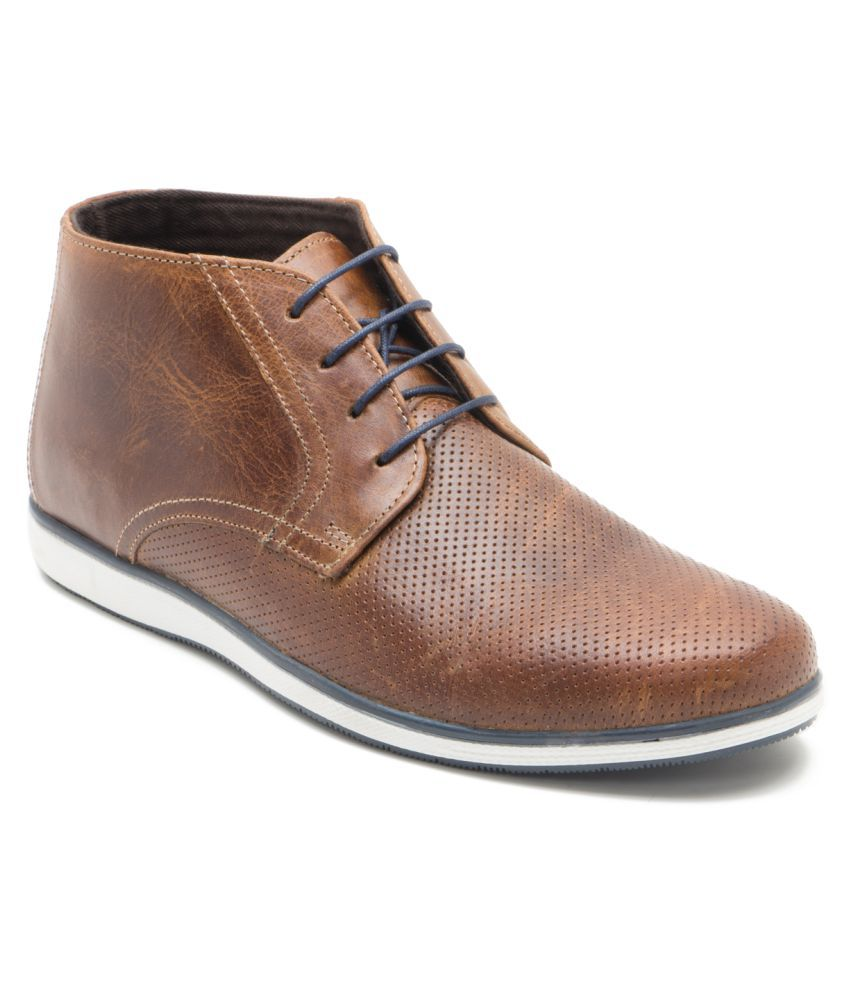Red Tape Tan Casual Boot