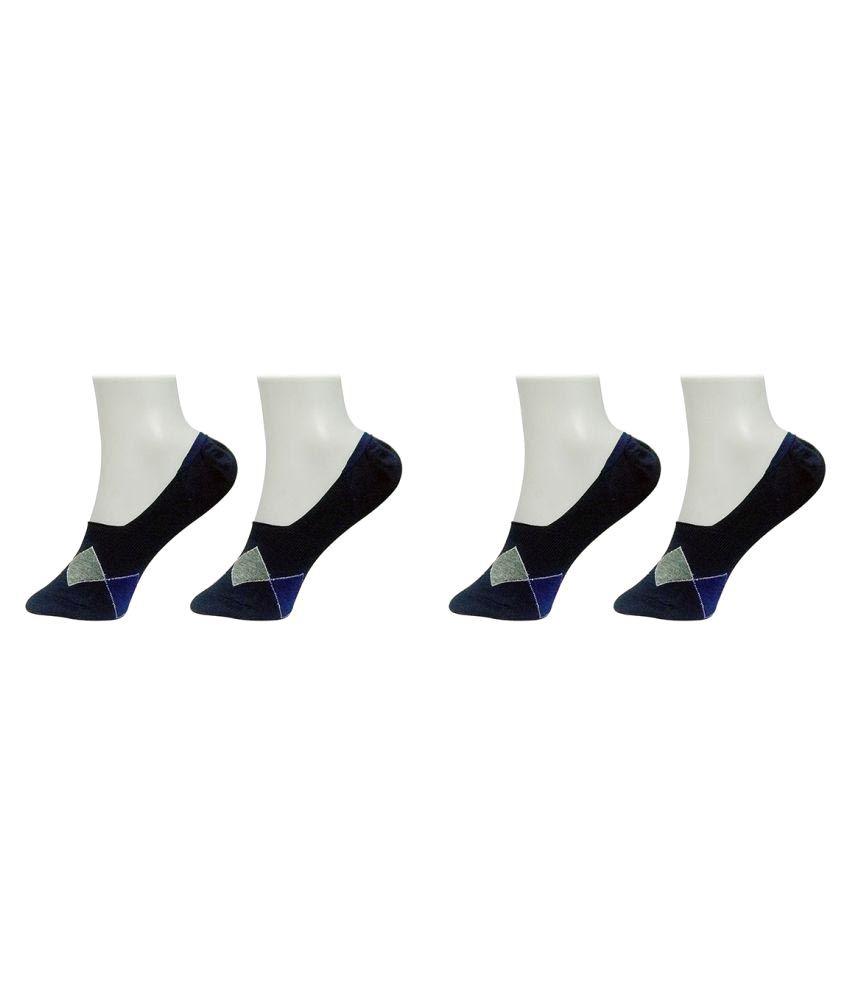 Gold Dust Navy Socks - Pair of 2