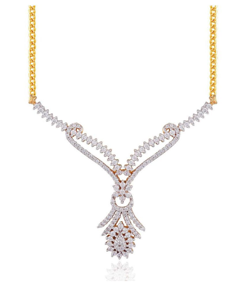 Maya Diamonds 18k Yellow Gold Diamond Mangalsutra