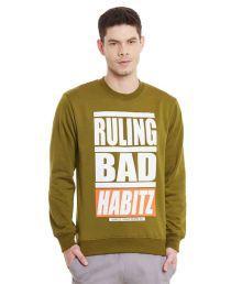 Yepme Green Round Sweatshirt