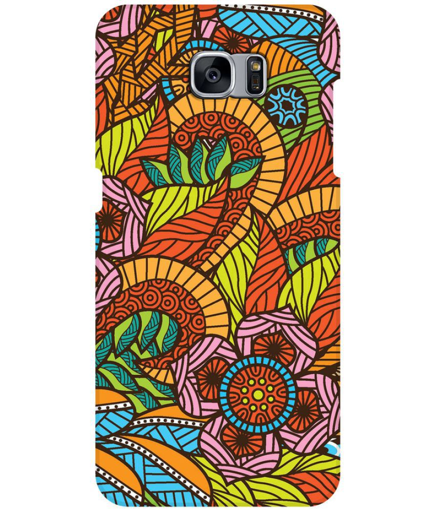 Samsung Galaxy S7 Printed Cover By SWANK THE NEW SWAG