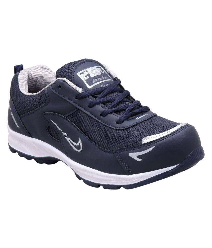 Aerofax Blue Running Shoes
