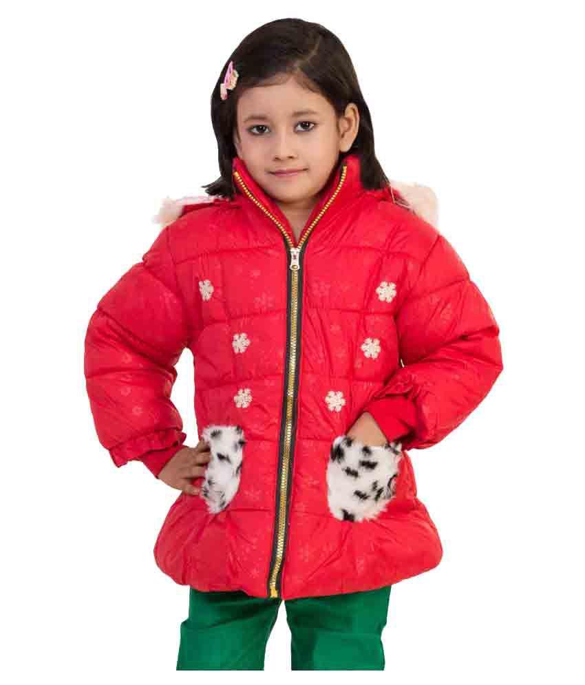 MDS Jeans Red Woollen Jacket