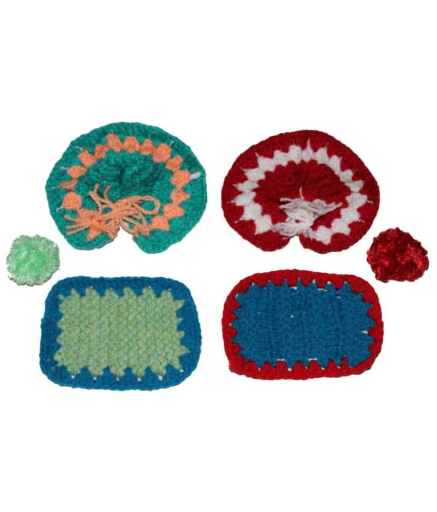 KK Creations Krishna Fabric Idol