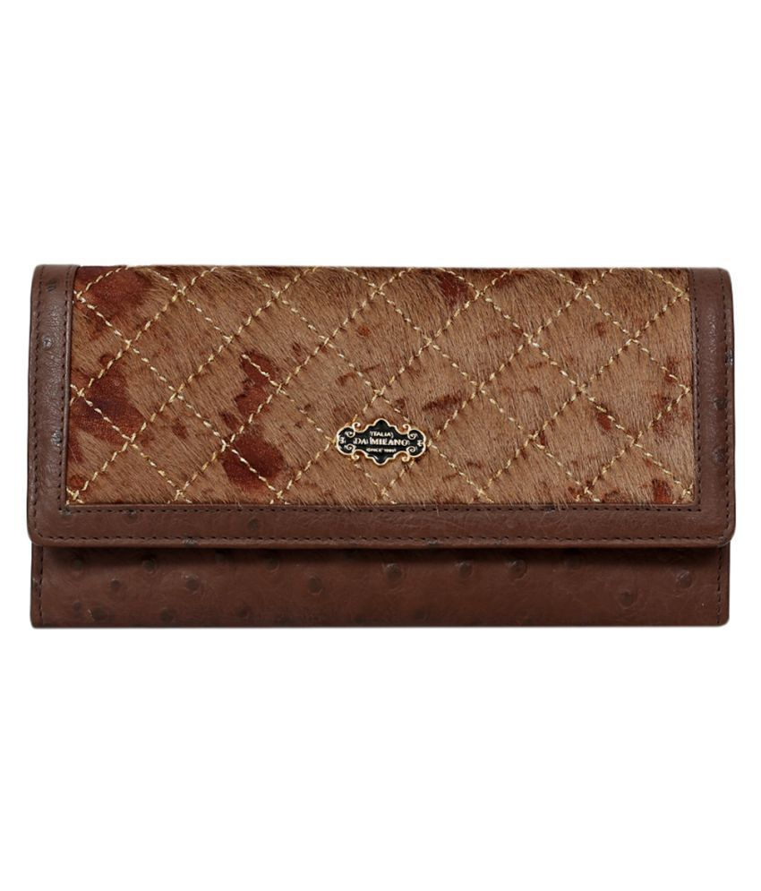 Da Milano Brown Wallet