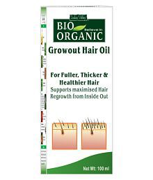 Indus Valley BIO Organic Growout Hair Oil Grow Out Hair Oil 100 Ml