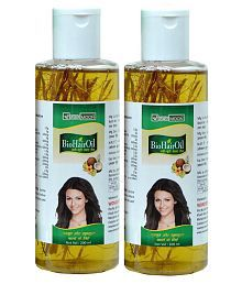 New Moon Herbal Mineral Oil  Free Mehandi Patta  Jadi Buti 200 Ml Pack Of 2