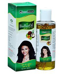 New Moon Herbal Mineral Oil  Free Mehandi Patta  Jadi Buti 200 Ml