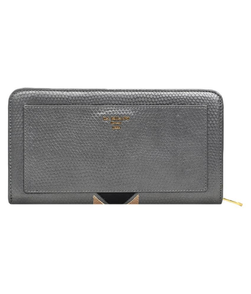 Da Milano Gray Wallet