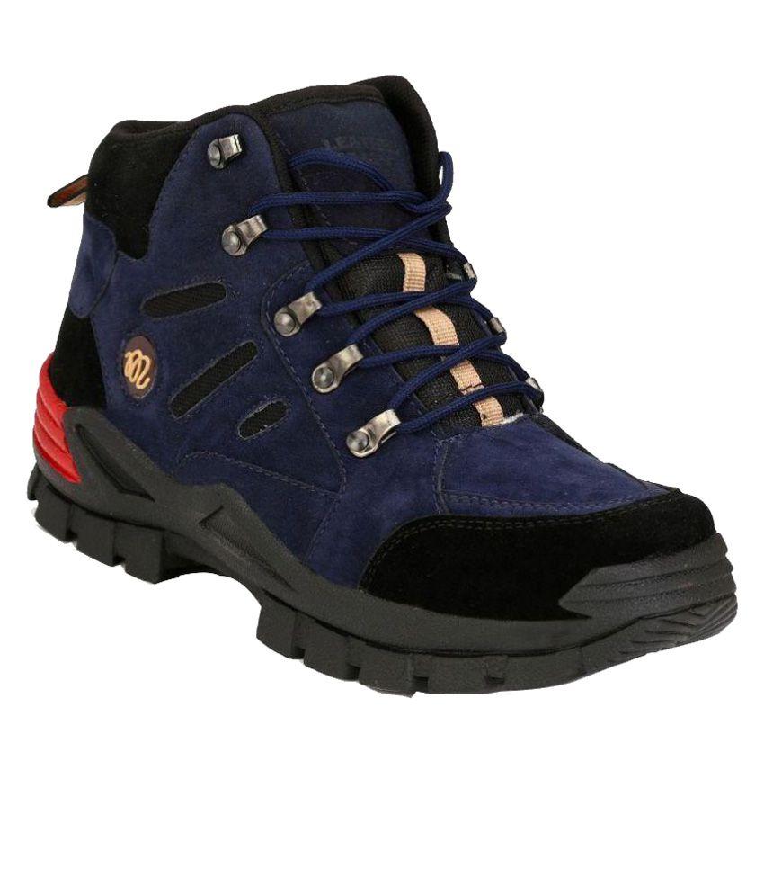 Menfolks Blue Hiking & Trekking Boot