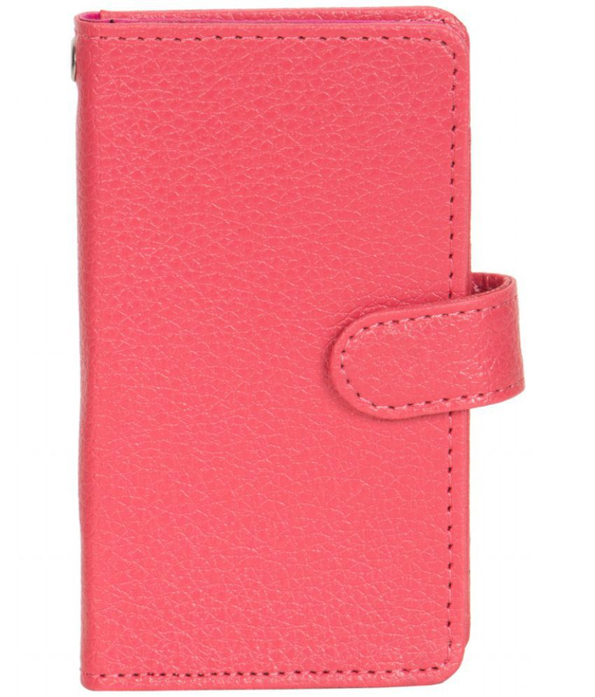 Iball Andi 5.5h Weber 4G Holster Cover by Senzoni - Pink