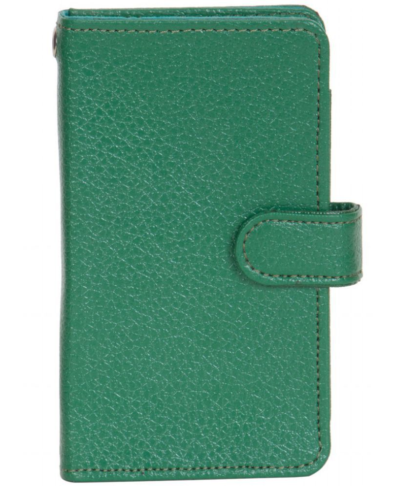 Micromax C210 Holster Cover by Senzoni - Green