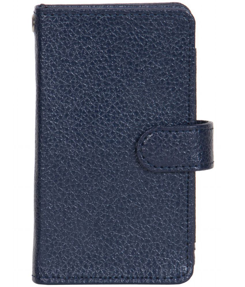 Micromax Canvas Xpress 4G Q413 Holster Cover by Senzoni - Blue