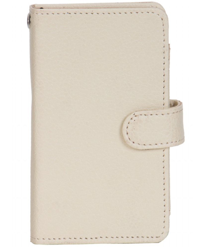 Lava Iris 458Q Holster Cover by Senzoni - White