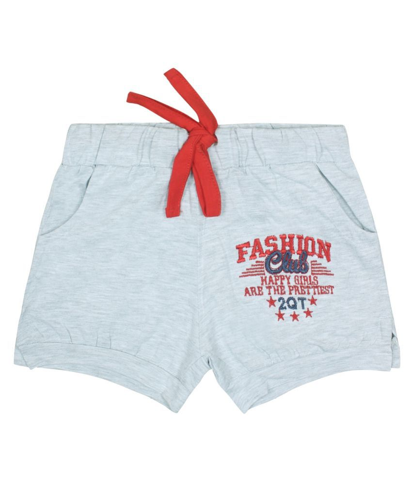 Jazzup Cotton Hot Pants for Girls