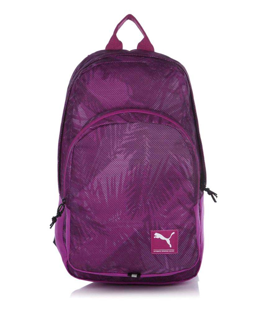Puma Purple Backpack