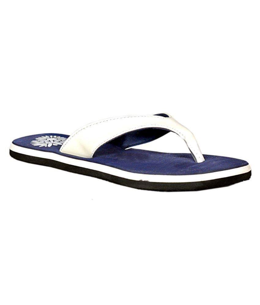 DHL White Slippers