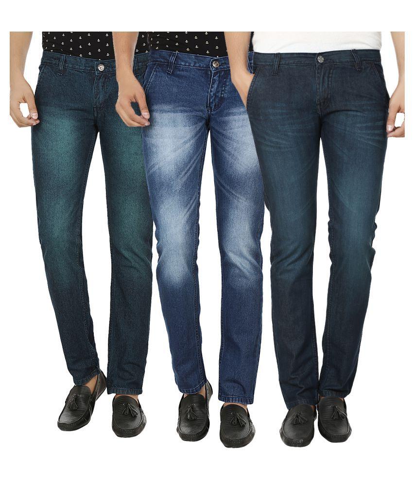Club Vintage Multi Slim Jeans