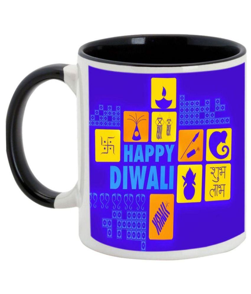 Alluprints Ceramic Coffee Mug 1 Pcs 325 ml