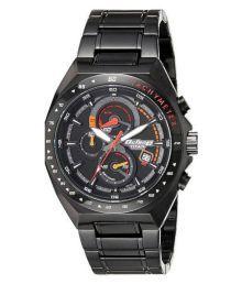 Titan Black Chronograph Watch