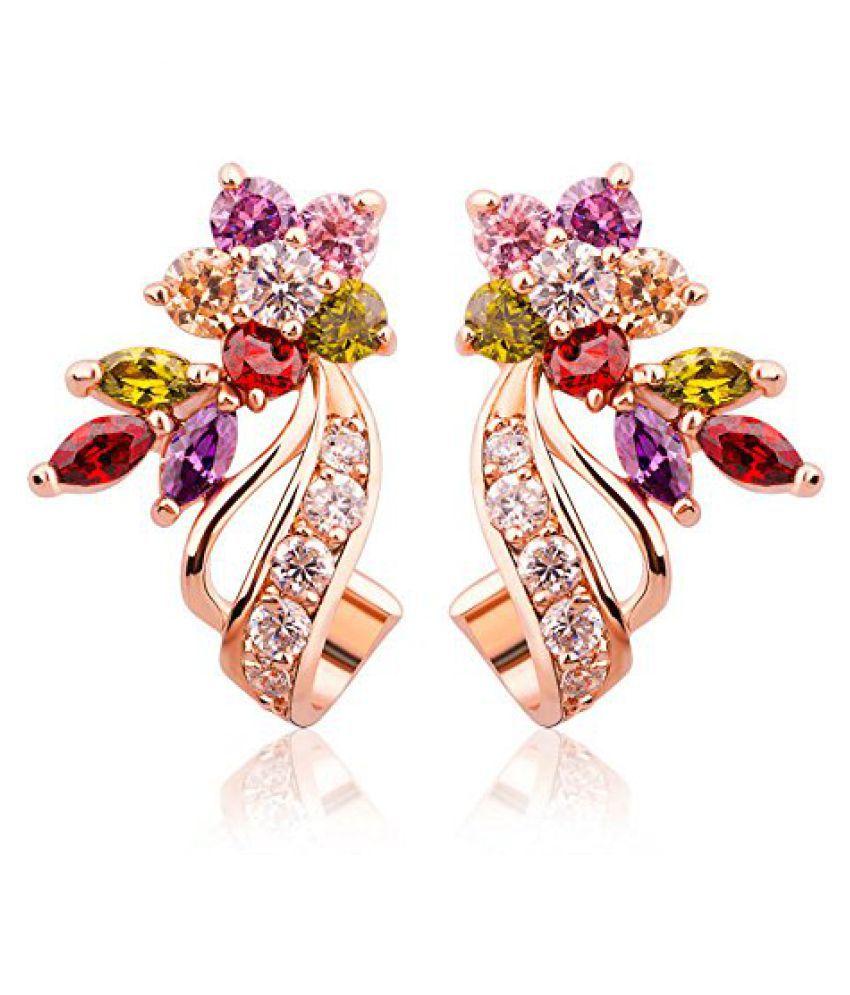 Jewels Galaxy Multicolour Stud Earrings Buy Jewels