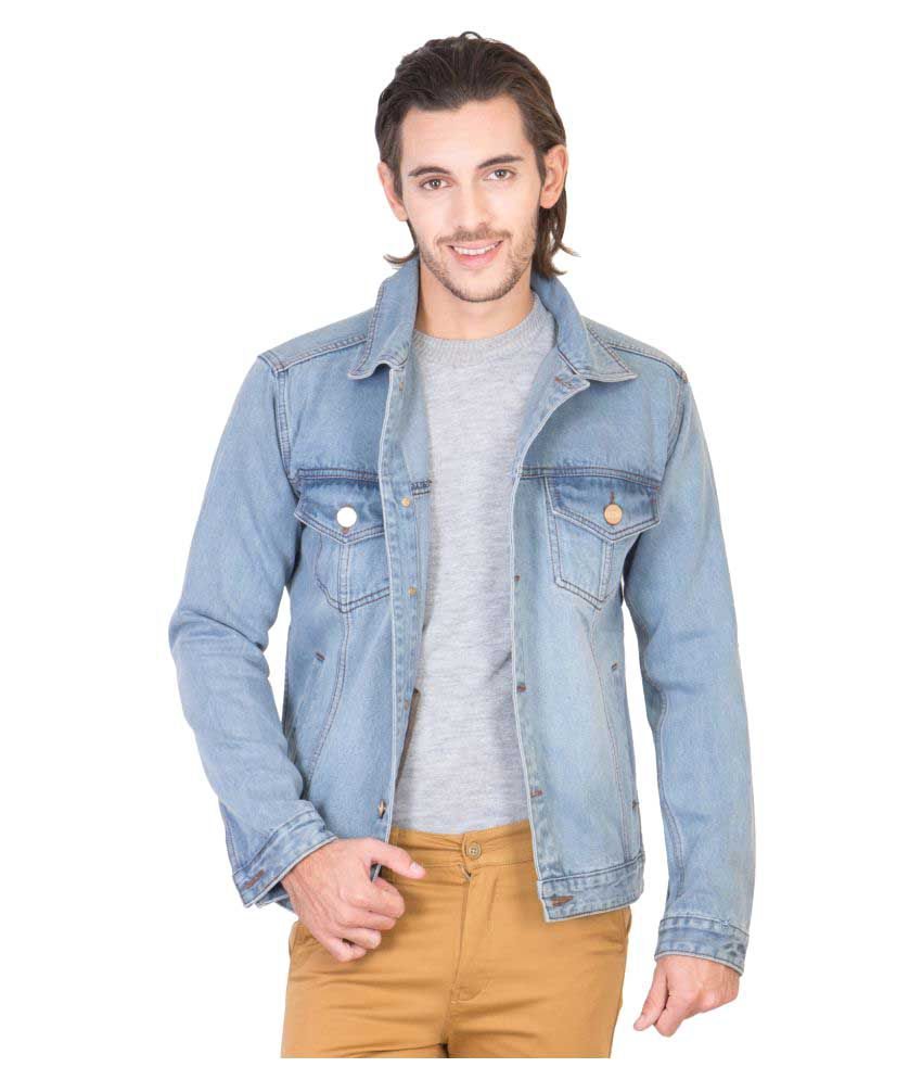 KROSSSTITCH Blue Denim Jacket - Buy KROSSSTITCH Blue Denim Jacket Online at  Best Prices in India on Snapdeal 43fed67fea7
