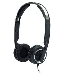 Sennheiser PX200II Over Ear Wired Headphones Without Mic Black